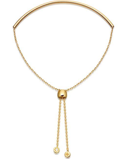 Astley Clarke - Metallic Cylinder Kula Biography 18ct Yellow-gold Vermeil Sterling Silver Bracelet - Lyst