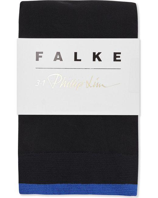 Falke | Black 3.1 Phillip Lim Striped Anklet Socks for Men | Lyst