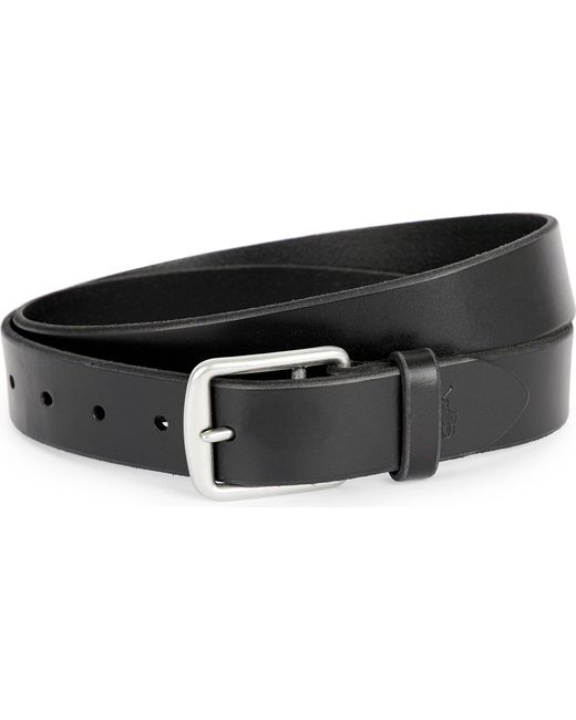 Polo Ralph Lauren | Black Harness Saddle Belt | Lyst