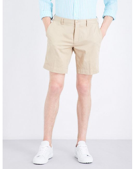 Polo Ralph Lauren | Natural Straight-fit Cotton Shorts for Men | Lyst