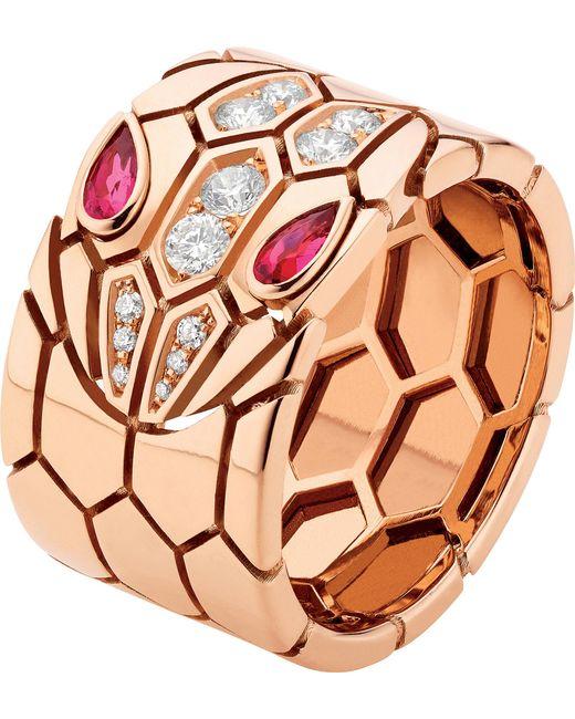BVLGARI | Serpenti Seduttori 18kt Pink-gold | Lyst