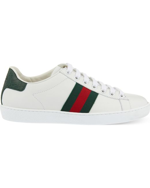 Gucci | Green New Ace Sneaker | Lyst