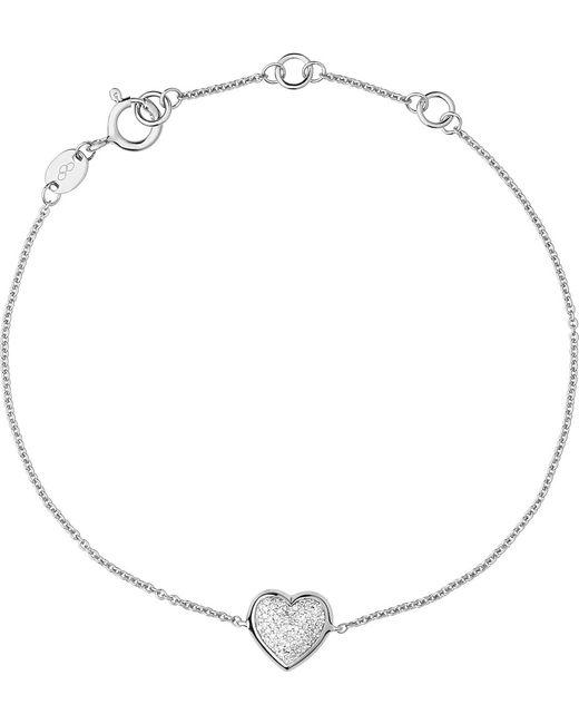 Links of London   Metallic Diamond Essentials Sterling Silver Pave Bracelet   Lyst