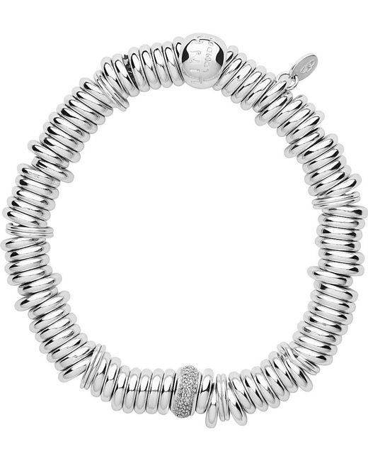 Links of London   Metallic Sweetie Sterling Silver And Diamond Pave Bracelet   Lyst