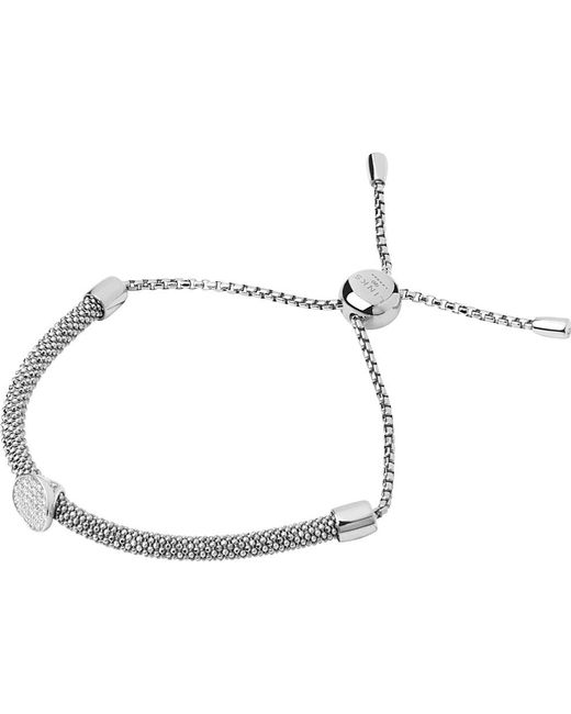 Links of London | Metallic Starlight Sterling Silver And Sapphire Round Bracelet | Lyst