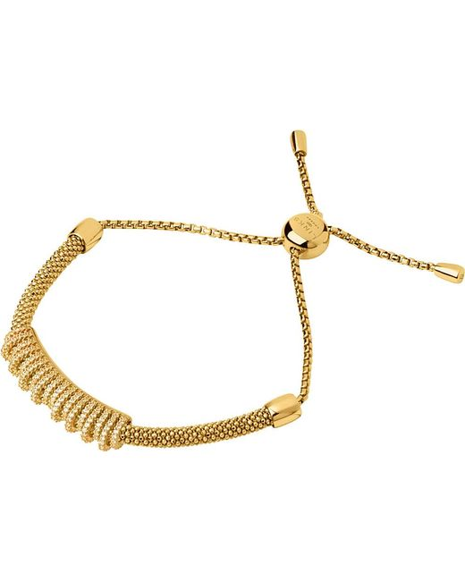 Links of London | Metallic Starlight 18ct Yellow-gold Vermeil And Sapphire Crown Bracelet | Lyst