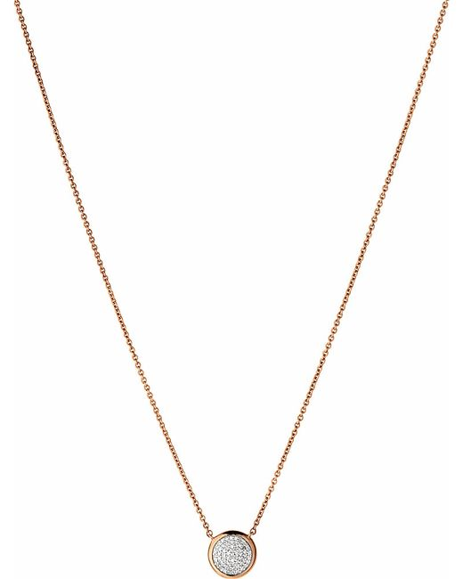 Links of London | Metallic Diamond Essentials Pave Necklace | Lyst