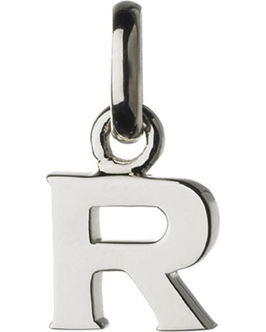 Links of London | Metallic Alphabet R Sterling Silver Charm | Lyst
