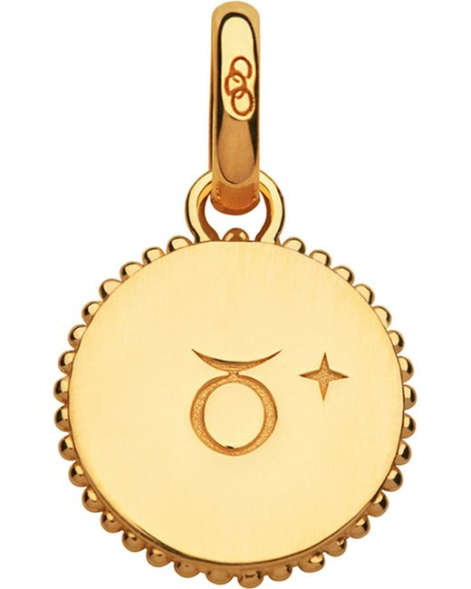 Links of London | Taurus 18ct Yellow-gold Vermeil Zodiac Charm | Lyst