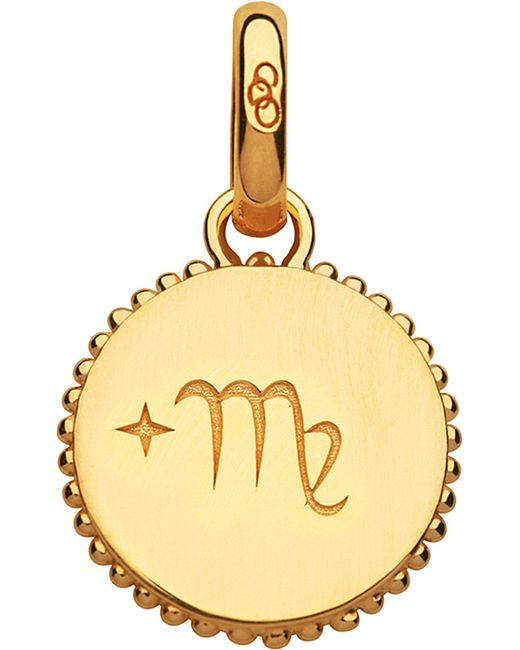 Links of London | Virgo 18ct Yellow-gold Vermeil Zodiac Charm | Lyst