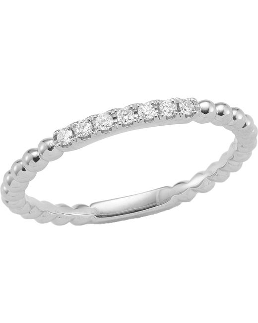 The Alkemistry - Diamond Band 14ct White-gold Ring - Lyst