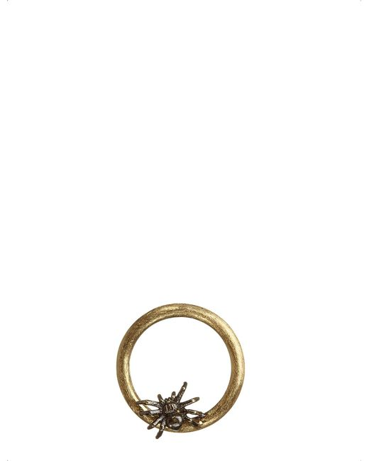 Annoushka | Metallic Hoopla Spider 18ct Yellow-gold Pendant | Lyst