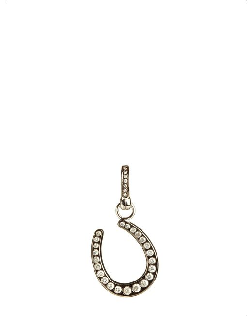 Annoushka | Mythology 18ct White Gold And Diamond Horseshoe Luck Charm | Lyst
