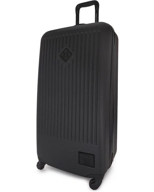 Herschel Supply Co. - Black Trade Four-wheel Large Suitcase 86cm for Men - Lyst