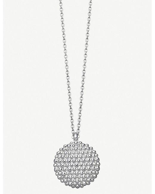 Astley Clarke - Metallic Floris Mille Sterling Silver Necklace - Lyst