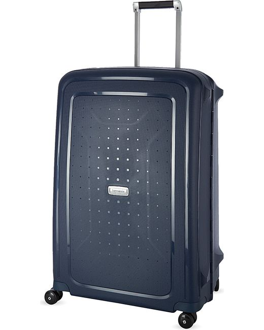 Samsonite | Blue Lite-biz Four-wheel Cabin Suitcase 55cm for Men | Lyst
