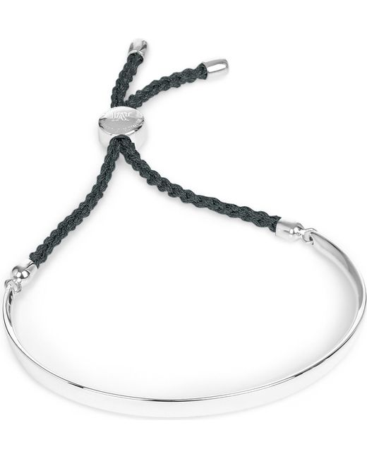 Monica Vinader - Blue Fiji Friendship Bracelet - Lyst