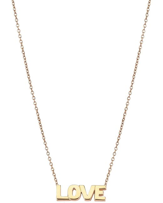 The Alkemistry - Metallic Kismet By Milka Love 14ct Rose-gold Necklace - Lyst