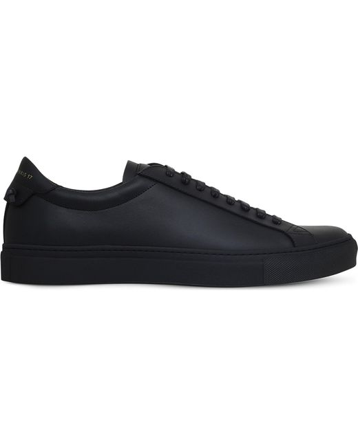 Givenchy | Black Knot Leather Trainers for Men | Lyst