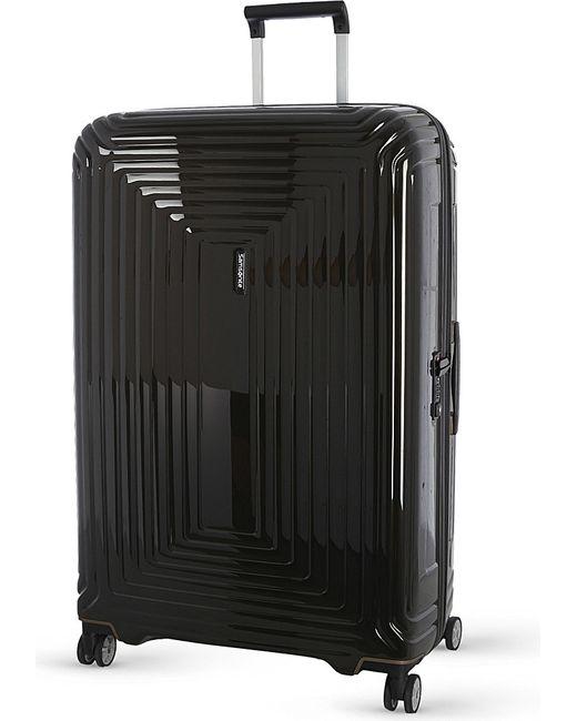 Samsonite | Black Neopulse Four-wheel Spinner Suitcase 75cm for Men | Lyst