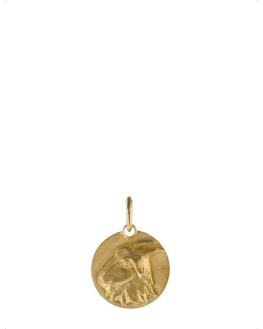 Annoushka - Mythology Capricorn 18ct Yellow-gold Pendant - Lyst
