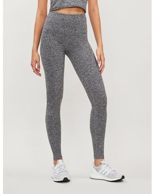 ba4d81688a90d Beyond Yoga - Black Spacedye Take Me Higher High-rise Stretch-jersey  leggings -