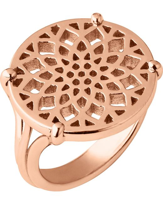 Links of London | Multicolor Timeless 18ct Rose-gold Vermeil Coin Ring | Lyst
