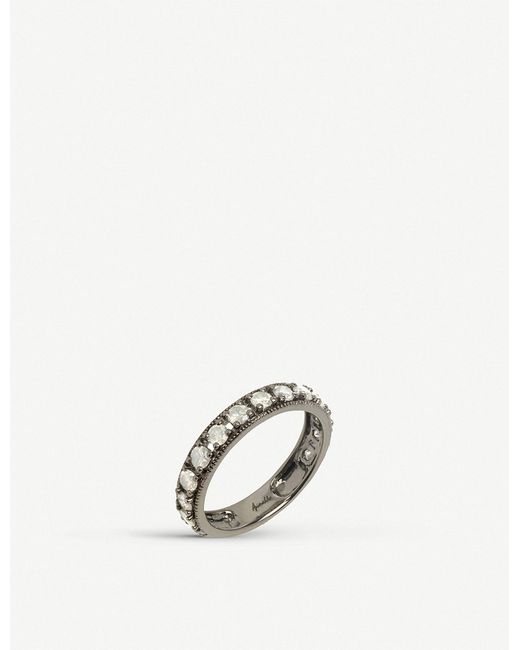 Annoushka - Dusty Diamonds 18ct White-gold And Diamond Eternity Ring - Lyst