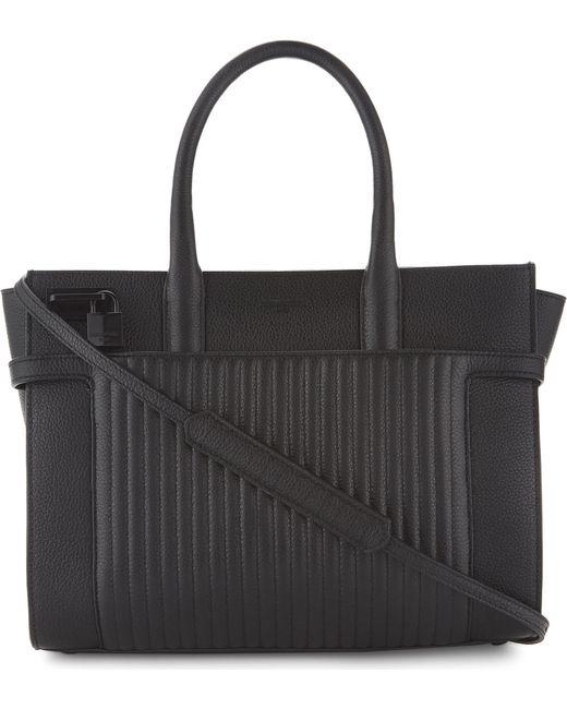 Zadig & Voltaire - Black Candide Medium Full-grain Leather Bag - Lyst