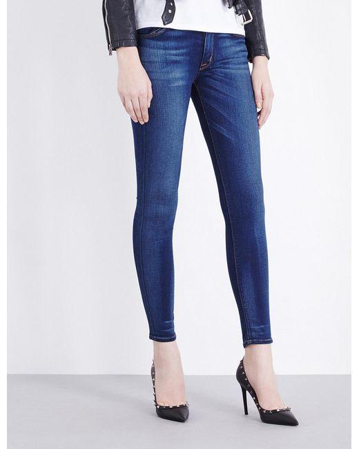 Hudson - Blue Nico Super-skinny Mid-rise Jeans - Lyst