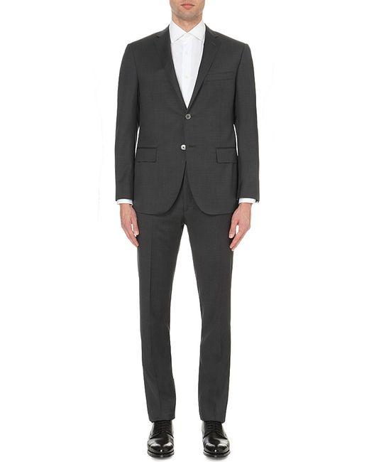 Corneliani | Gray Slim-fit Wool Suit for Men | Lyst