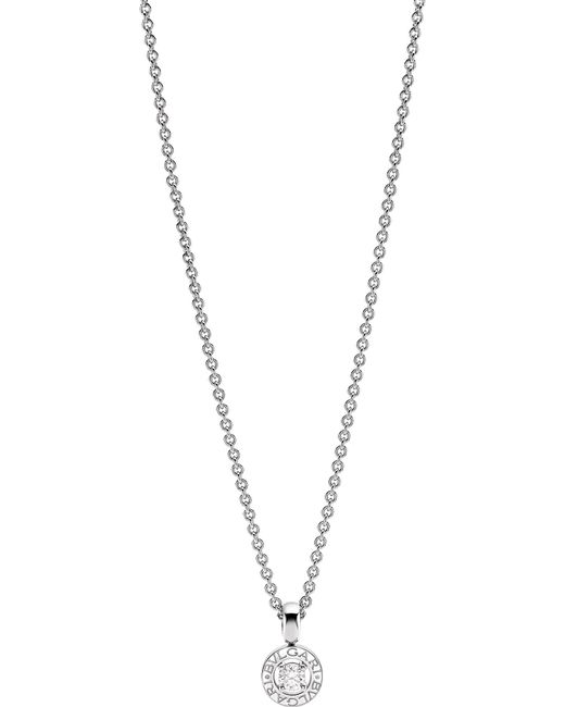 BVLGARI - - 18kt White-gold And Diamond Necklace - Lyst
