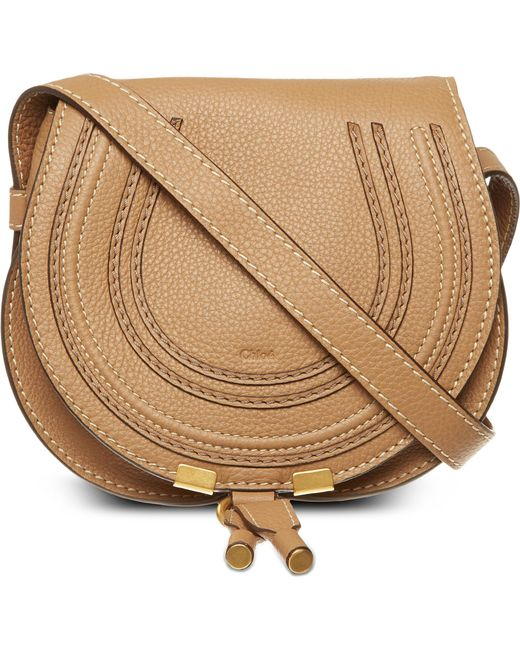 Chloé | Natural Marcie Small Saddle Bag | Lyst