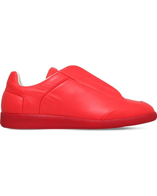 Maison Margiela | Red Future Low-top Sneaker for Men | Lyst