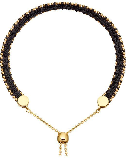 Astley Clarke - Metallic Kula Biography 18ct Yellow-gold Vermeil Midnight Bracelet - Lyst