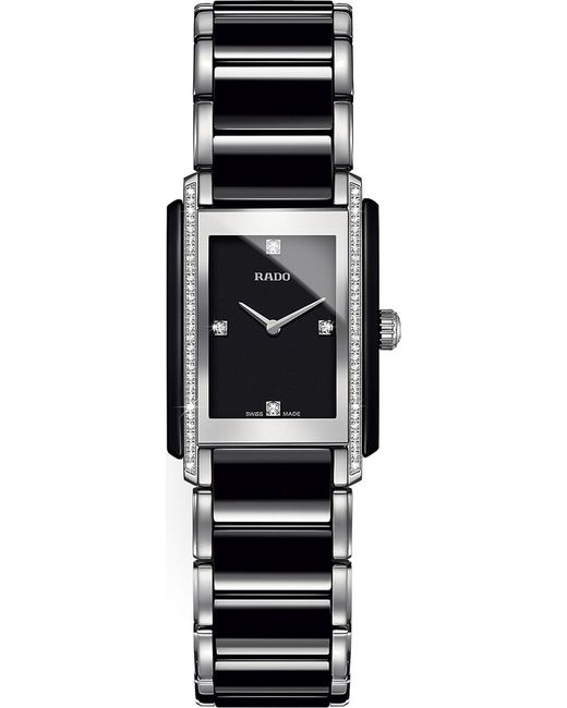 Rado - Black R20217712 Integral Ceramic And Diamond Watch - Lyst