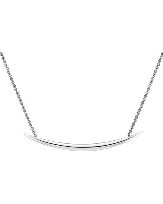 Shaun Leane - Metallic Quill Silver Vermeil Necklace - Lyst