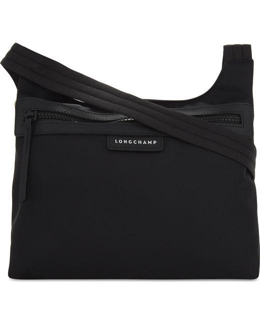 Longchamp - Black Le Pliage Cross-body Bag - Lyst