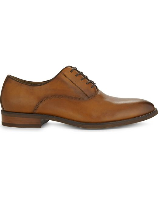 ALDO - Brown Eloie Leather Oxford Shoes for Men - Lyst