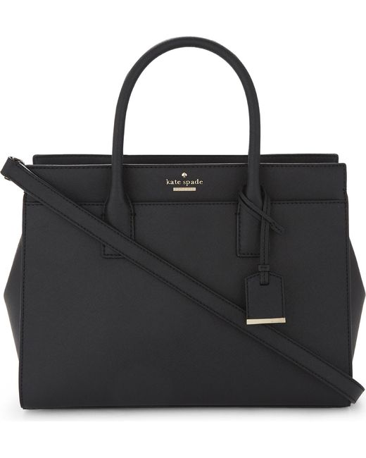 Kate Spade - Black Cameron Street Candace Leather Satchel - Lyst