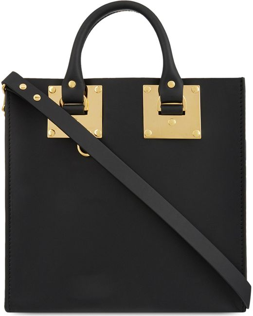 Sophie Hulme | Black Albion Square Small Shopper | Lyst