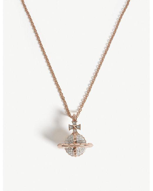 Vivienne Westwood | Metallic Mayfair Orb Pendant Necklace | Lyst