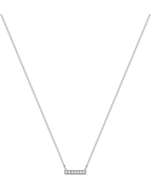 The Alkemistry | Metallic 14ct White-gold And Diamond Necklace | Lyst