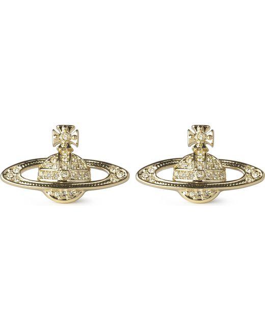 Vivienne Westwood - Metallic Bas Relief Earrings Jonquil - Lyst