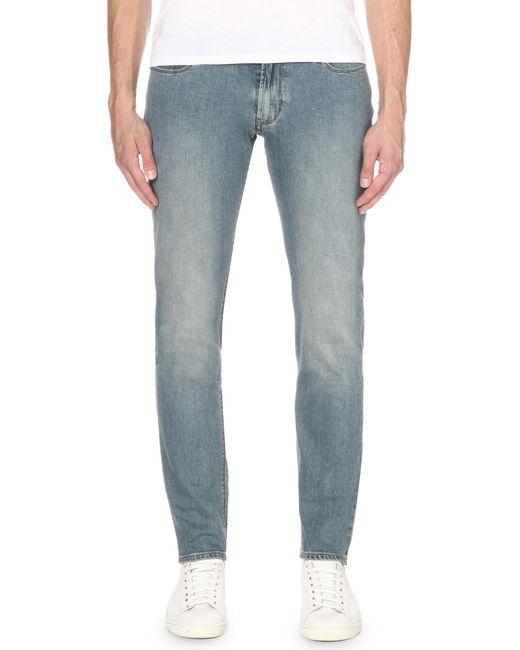 Armani Jeans | Blue J06 Slim-fit Jeans for Men | Lyst