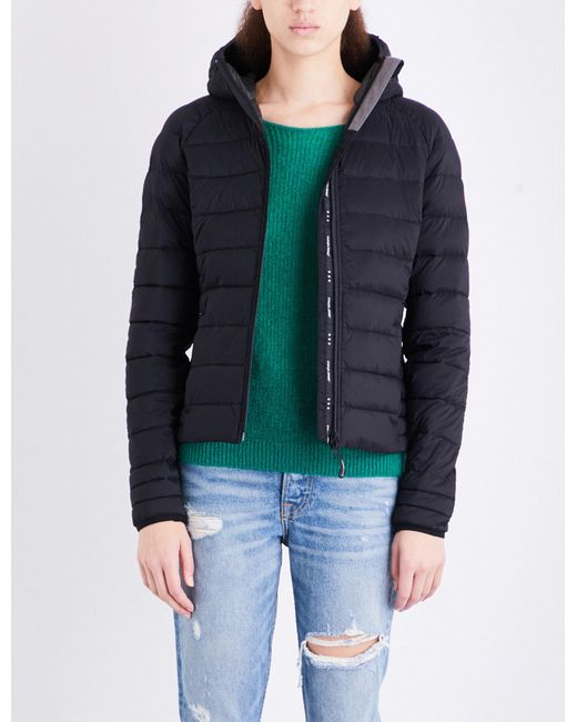 553472d240a1 Canada Goose Brookvale Quilted Shell Jacket in Black - Lyst