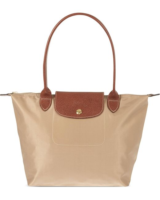 Longchamp | Brown Le Pliage Small Shopper | Lyst