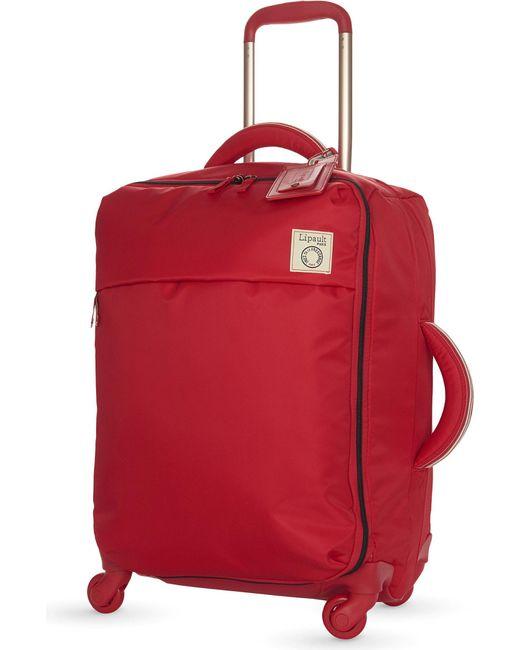 Lipault - Black Inès De La Fressange Four-wheel Cabin Suitcase 55cm - Lyst