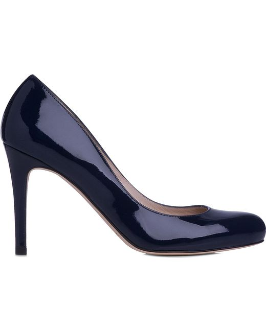 L.K.Bennett - Black Stila Patent-leather Courts - Lyst