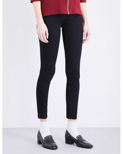 Claudie Pierlot | Black Powerful Bis Skinny High-rise Jeans | Lyst